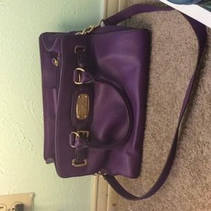 Purple MK purse